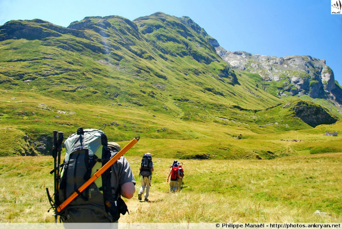 Vallée de la Canau (Pyrénées, France)