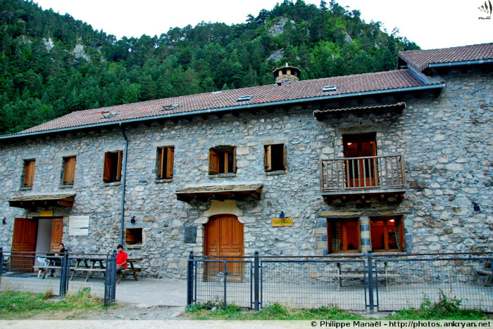 Refuge San Nicolas de Bujaruelo (Pyrénées, Espagne)