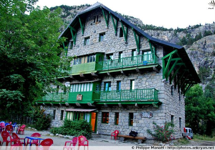 Refuge Casa de Piedra (Pyrénées, Espagne)