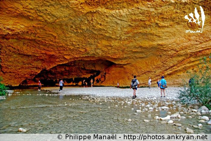 Cueva de Picamartillos, Alquézar (Sierra de Guara, Espagne)
