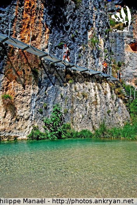Canyon du rio Vero, Alquézar (Sierra de Guara, Espagne)