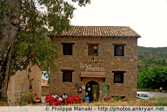 Auberge Las Almunias de Rodellar (Sierra de Guara, Espagne)
