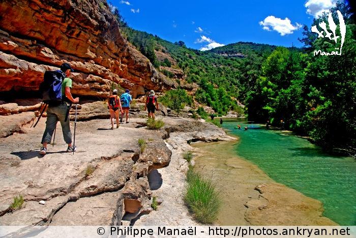 Sierra de Guara, au pays des canyons (trekking). Espagne, Aragon, Huesca