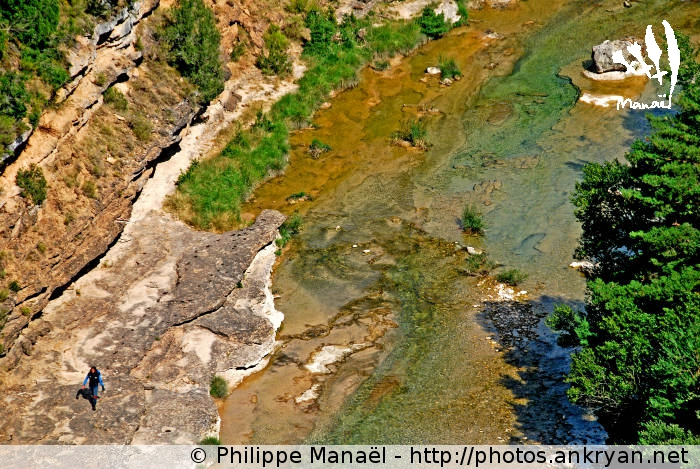 Canyon de la Peonera, Rio Alcanadre (Sierra de Guara, Espagne)