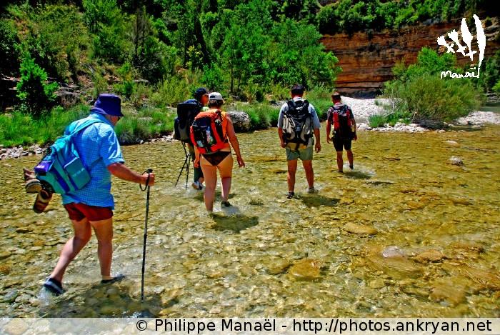 Canyon de la Peonera (trekking Sierra de Guara, au pays des canyons). Espagne, Aragon, Huesca