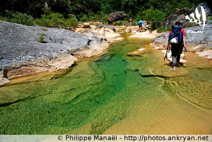 Traversée aquatique du Rio Guatizalema (Sierra de Guara, Espagne)