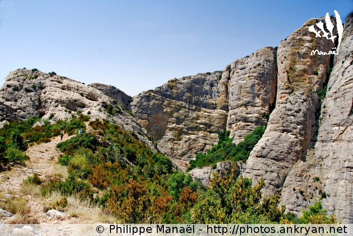 Barranco de San Martín de la Val de Onsera (trekking Sierra de Guara, au pays des canyons). Espagne, Aragon, Huesca