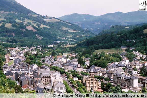 Préambule : La Bourboule (trekking Auvergne, au pays des volcans). France, Auvergne, Puy-de-Dôme