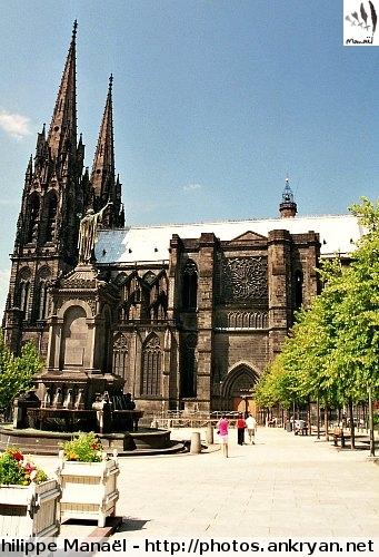 Cathédrale Notre-Dame-de-l'Assomption, Clermont-Ferrand (Auvergne, France)