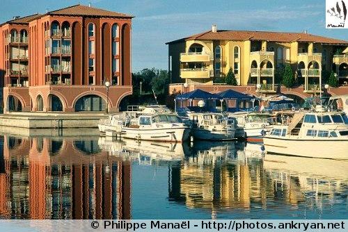 Montpellier - Lattes : Préambule (trekking Au long du Golfe d'Aigues-Mortes). France, Languedoc-Roussillon, Hérault