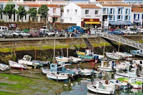 Bateaux de pêche de Port-Joinville (Ile d'Yeu, Vendée, France)
