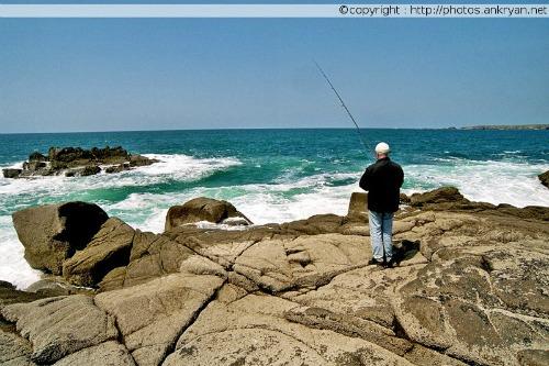Pêche en haute mer (Ile d'Yeu, Vendée, France)