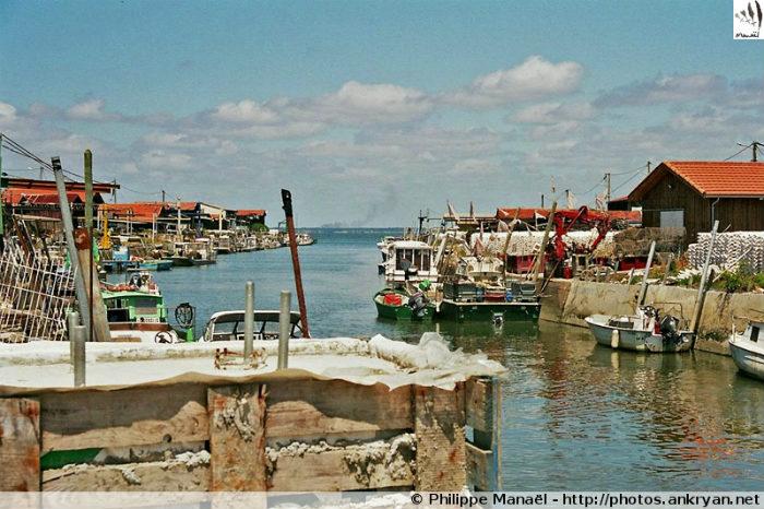 Port de Gujan-Mestras, bassin d'Arcachon (Aquitaine, France)