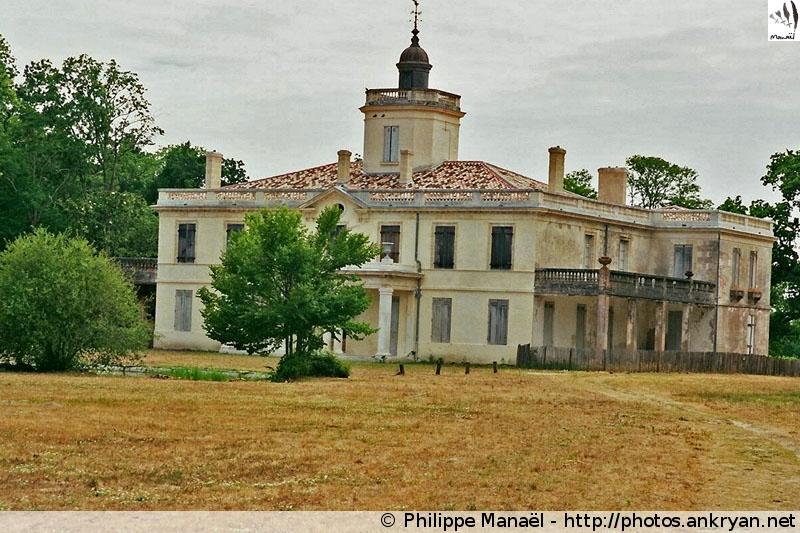 Château du Domaine de Certes (Aquitaine, Bassin d'Arcachon, France)