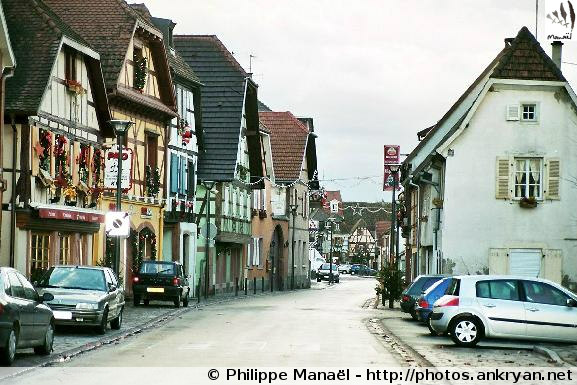 Réveillon de l'an : Alsace Médiévale (trekking). France, Alsace, Haut-Rhin