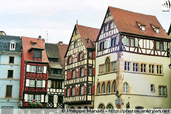 Visite de Colmar (trekking Réveillon de l'an : Alsace Médiévale). France, Alsace, Haut-Rhin