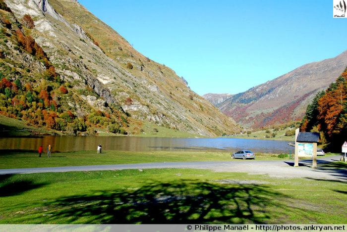 Lac d'Estaing - Cauterets (trekking Les Pyrénées : en route pour les étoiles). France, Midi-Pyrénées, Hautes-Pyrénées