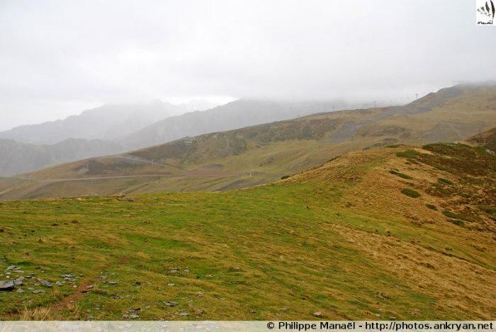 Col de Riou depuis Cauterets (Hautes-Pyrénées, France)