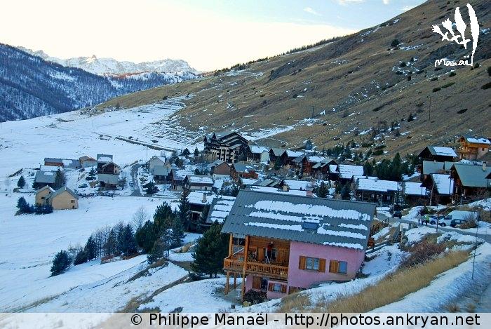 Molines (massif du Queyras, Hautes-Alpes, France)