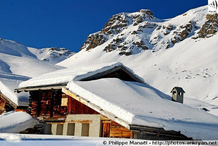 Chalet d'alpage de Clapeyto (massif du Queyras, Hautes-Alpes, France)