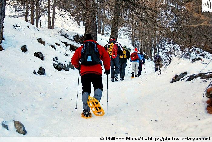Sentier de La Rua, Col des Prés de Fromage (massif du Queyras, Hautes-Alpes, France)