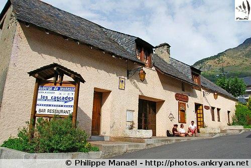 Auberge Les Cascades, Luz-Saint-Sauveur (Hautes-Pyrénées, France)