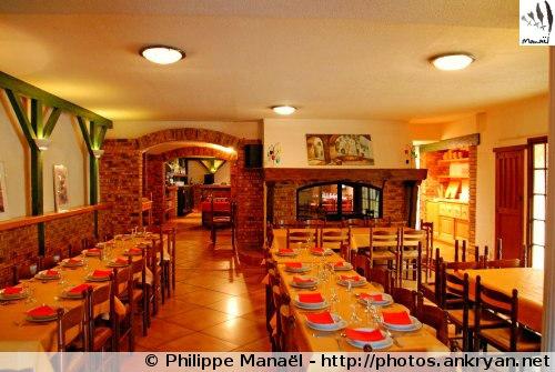 Restaurant Les Cascades, Luz-Saint-Sauveur (Hautes-Pyrénées, France)