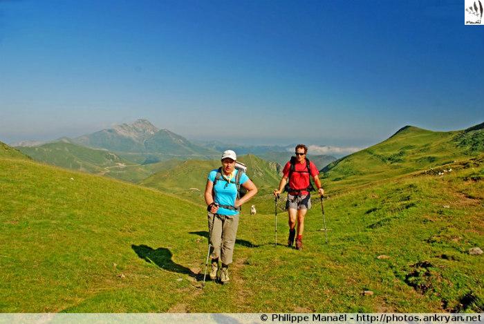Randonneurs de Natura (Pyrénées, France)