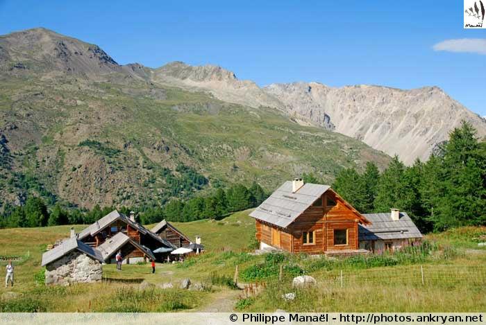 Refuge Buffère, vallée de la Clarée (Névache, Hautes-Alpes, France)