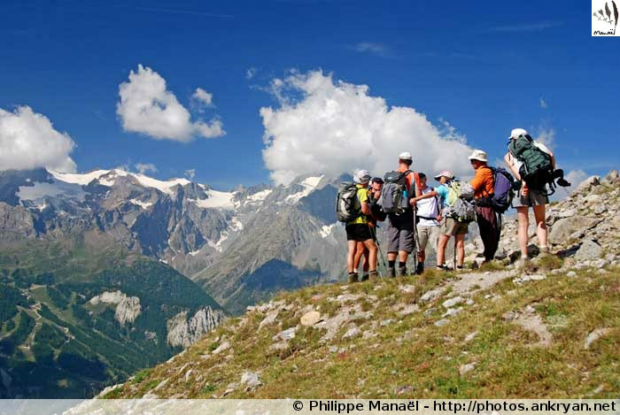 Sommets d'Oisans (Hautes-Alpes, France)