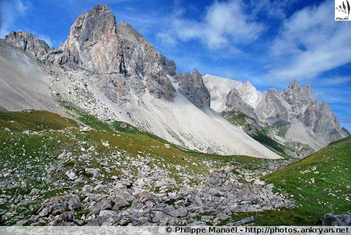 Roches de Crépin, Haute Clarée (Hautes-Alpes, France)