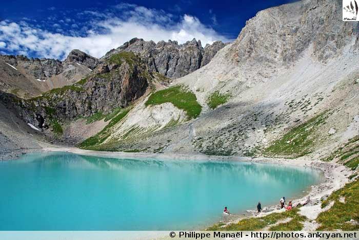 Lac des Béraudes, vallée de la Clarée (Hautes-Alpes, France)