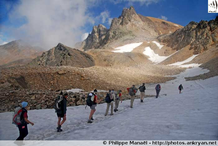 Vallée de la Clarée et Mont Thabor (trekking). France, PACA, Hautes-Alpes