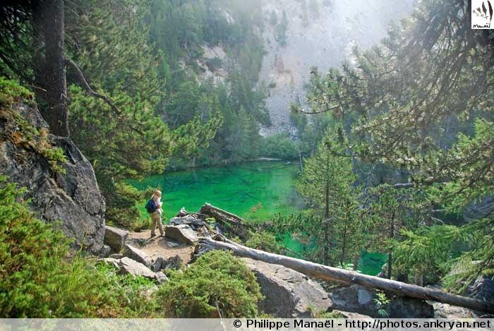 Lac Vert, vallée Étroite, Haute Clarée (Hautes-Alpes, France)