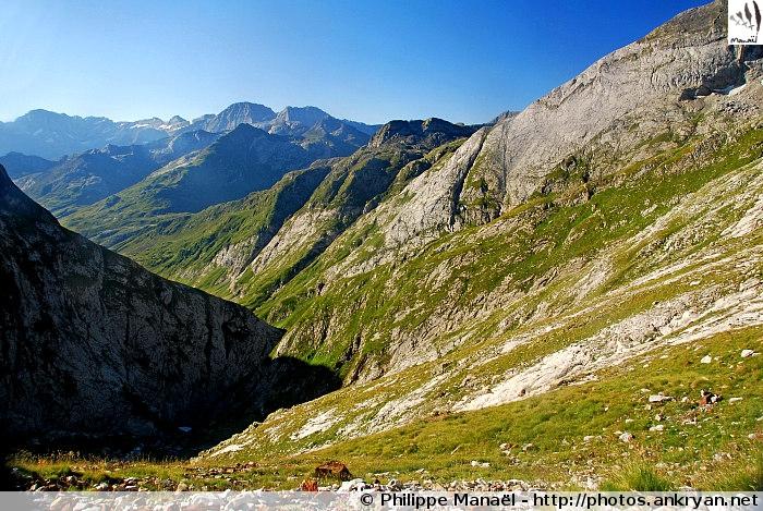 Vallée d'Ossoue (Massif du Vignemale, Pyrénées, France)