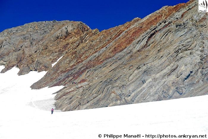 Pique Longue, glacier d'Ossoue (Massif du Vignemale, Pyrénées, France)