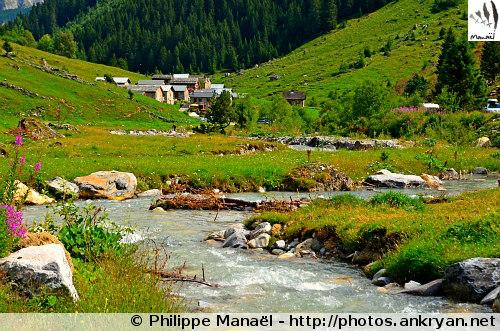 Hameau des Prioux, Doron de Pralognan (Vanoise, Savoie, France)