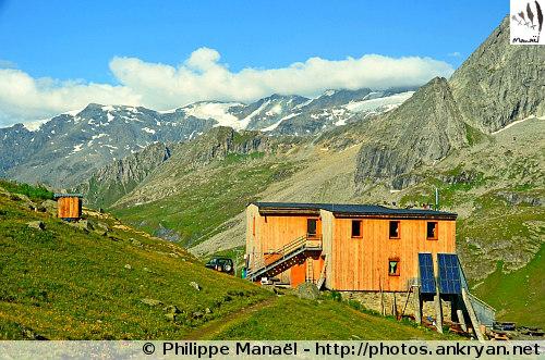 Refuge Peclet-Polset, Pralognan-la-Vanoise (Savoie, France)