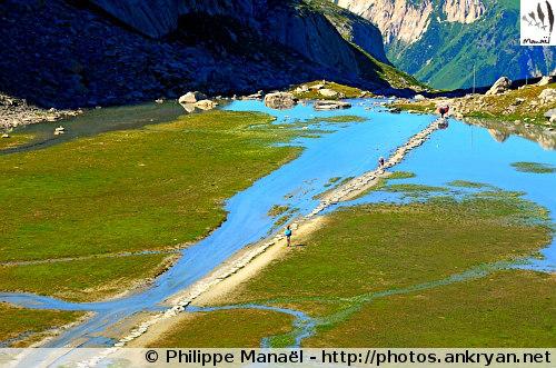 Lac des Vaches (Vanoise, Savoie, France)