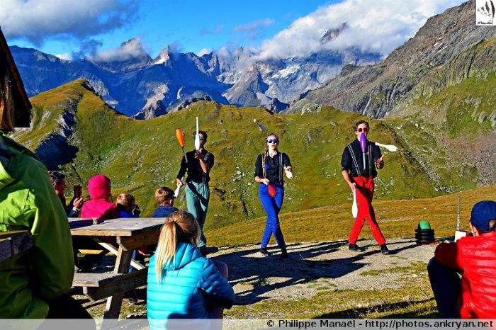 Spectacle Dos Mundos al-Arte, refuge de la Valette (Savoie, France)