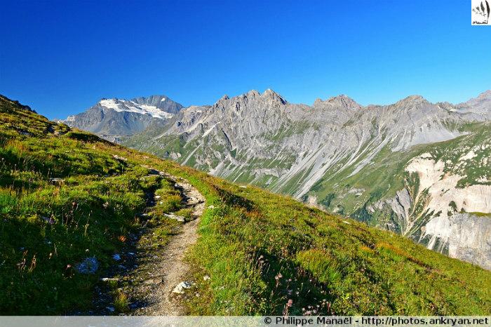 Les Balcons de la Vanoise (trekking). France, Rhône-Alpes, Savoie