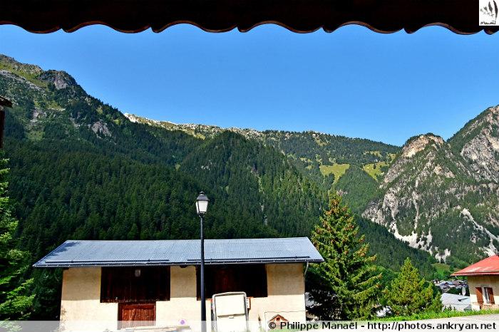 Crête du Mont Charvet, depuis Pralognan-la-Vanoise (Savoie, France)