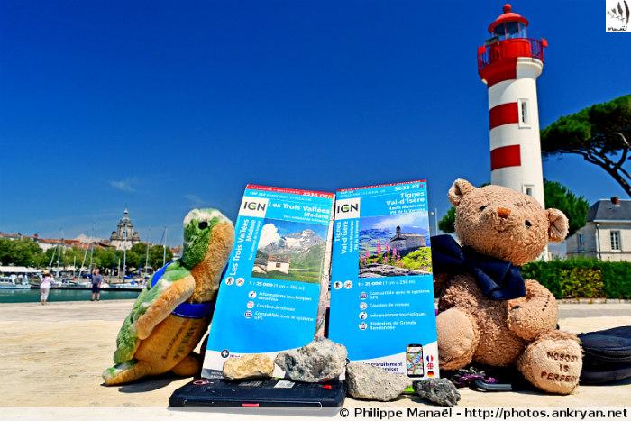 Le Duo Solidaire et Cartes IGN Parc de la Vanoise (La Rochelle, France)