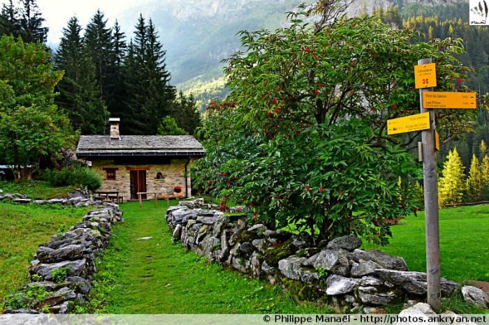 Hameau de Cholière, Pralognan-la-Vanoise (Savoie, France)