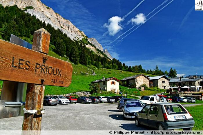 Hameau des Prioux, Pralognan-la-Vanoise (Savoie, France)