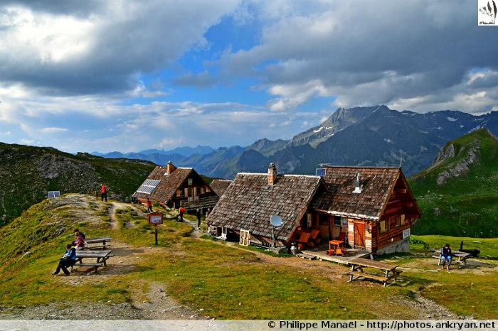 Pralognan-la-Vanoise - Les Prioux - Refuge de la Valette (2590 m) (trekking Les Hauts de la Vanoise). France, Rhône-Alpes, Savoie
