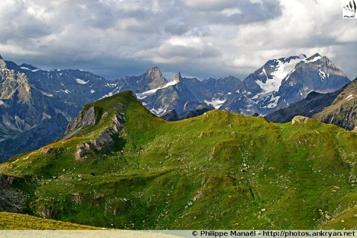 Les Hauts de la Vanoise (trekking). France, Rhône-Alpes, Savoie