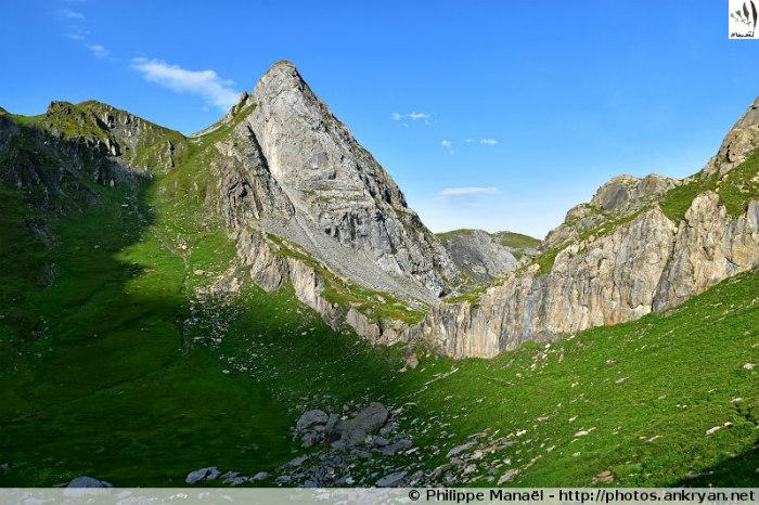 Roc du Tambour, cirque du Grand Marchet (Vanoise, Savoie, France)