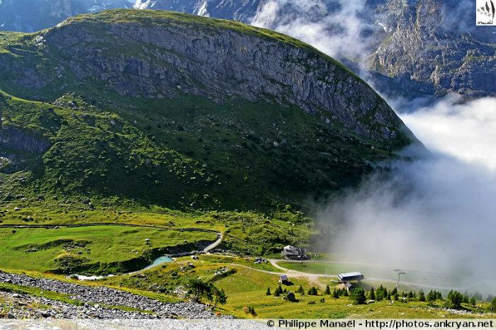 Le Moriond et les Barmettes (Vanoise, Savoie, France)