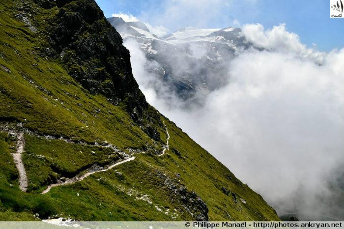 Sentier des Échines, Pralognan (Vanoise, Savoie, France)